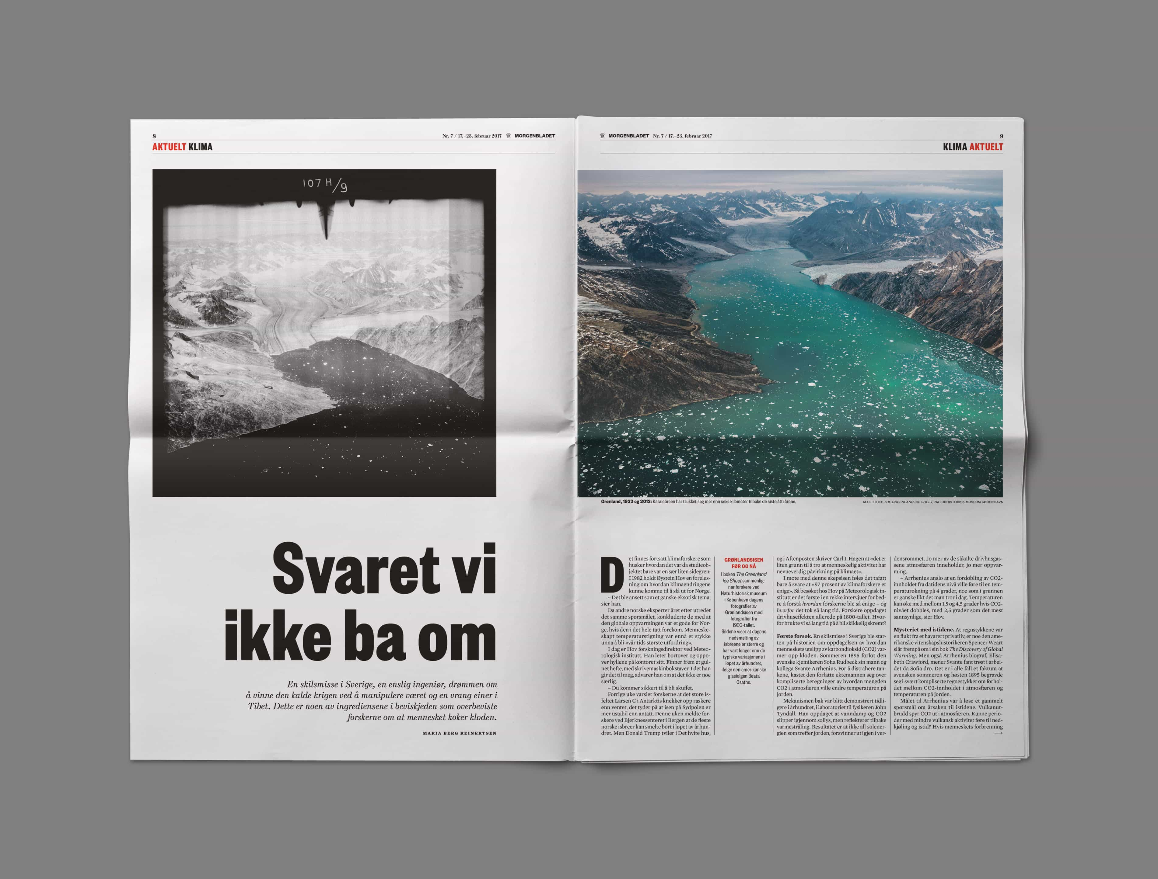 Bureau Johannes Erler – European Newspaper of the Year Award: Morgenbladet