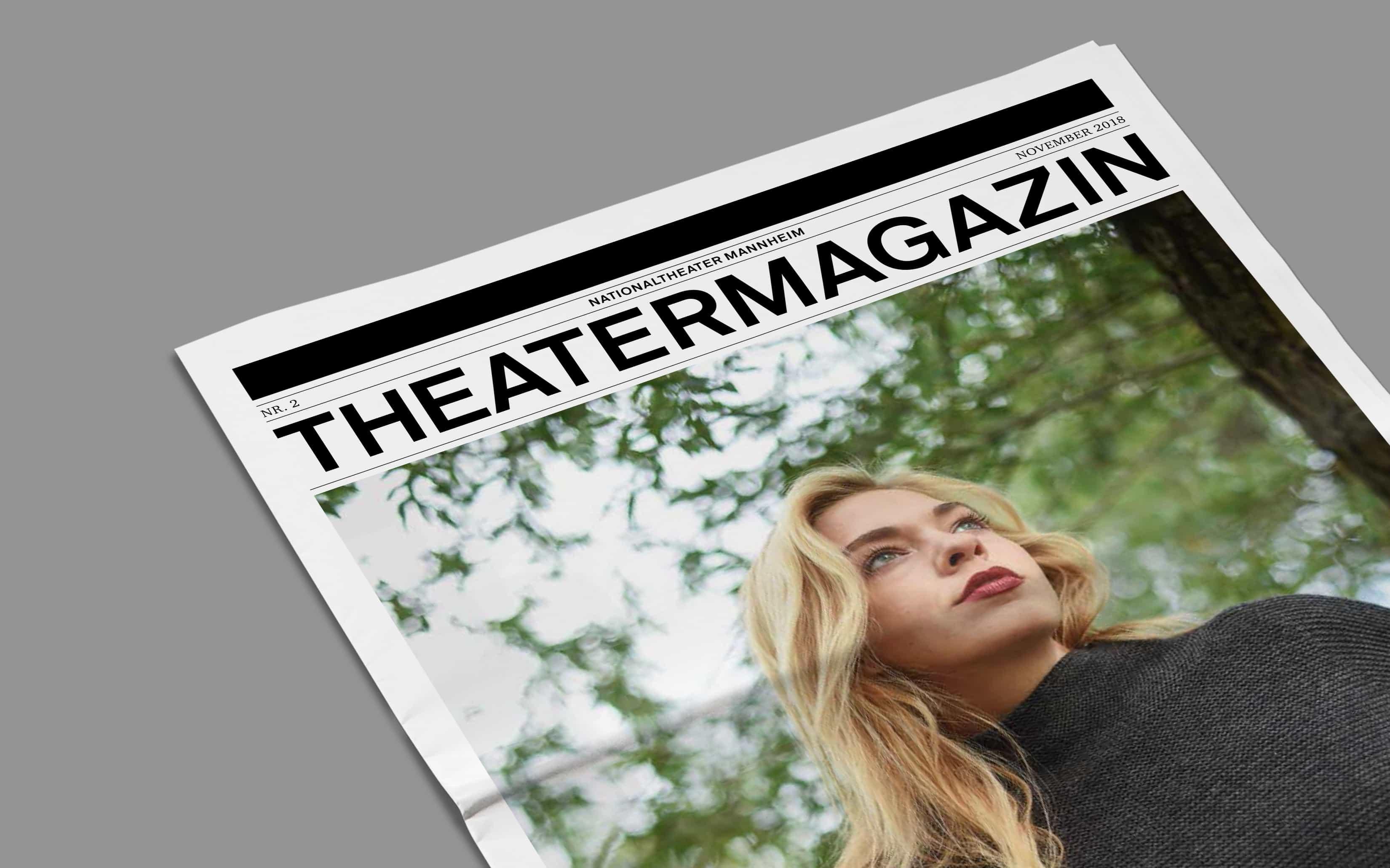 Bureau Johannes Erler – Das Theatermagazin fürs Nationaltheater Mannheim