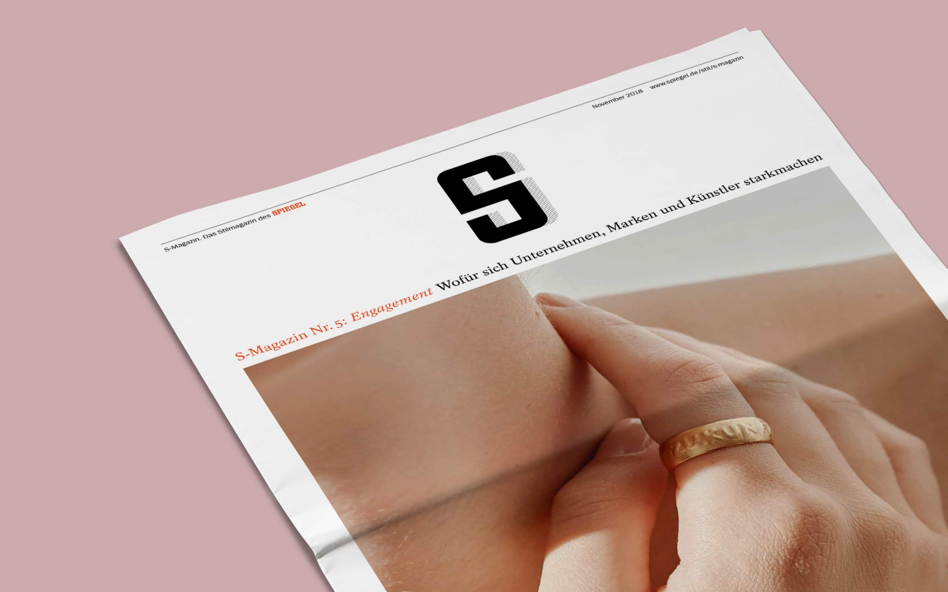 Bureau Johannes Erler – S-Magazin Nr.5: Engagement