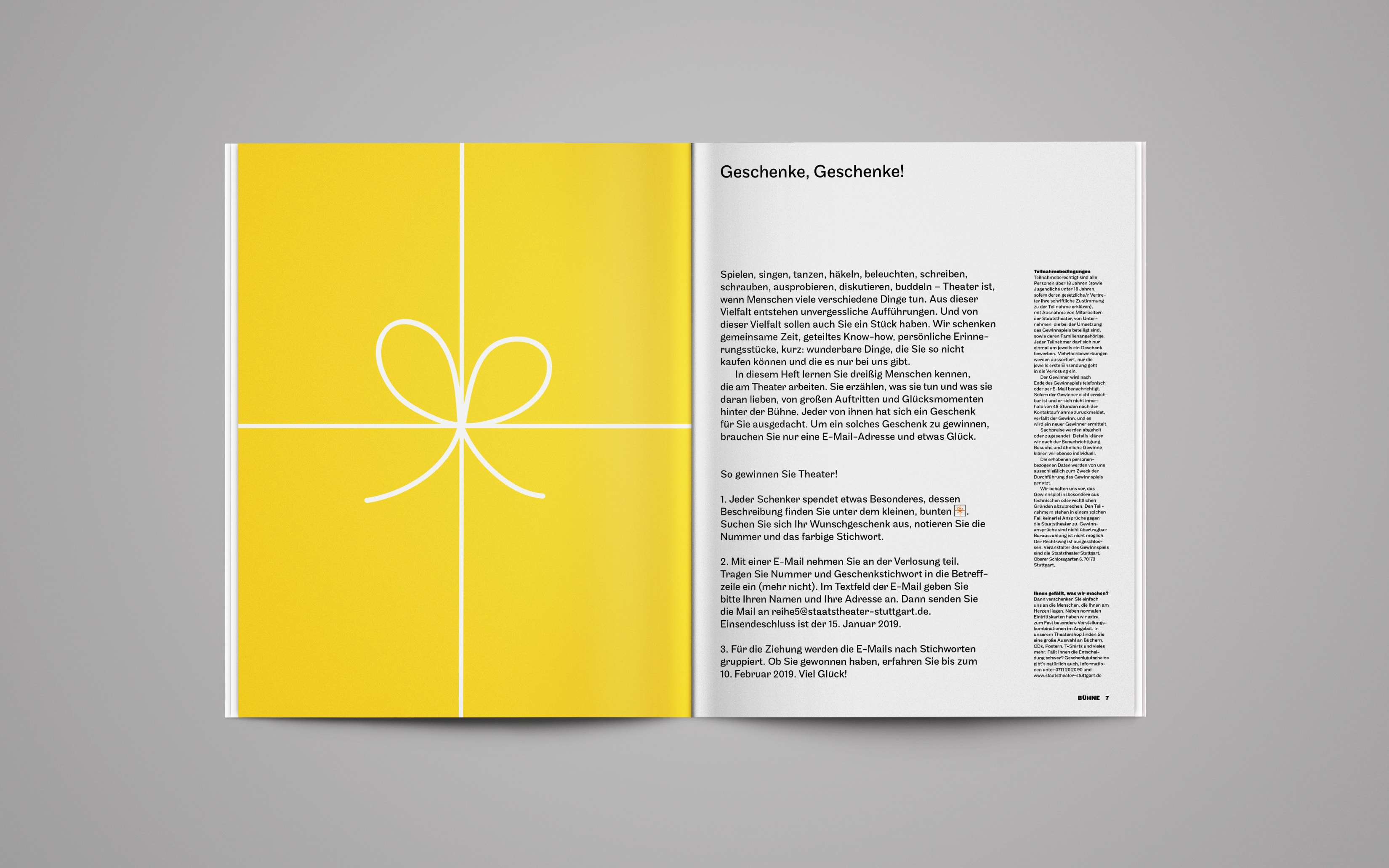 Bureau Johannes Erler – Geschenke, Geschenke!