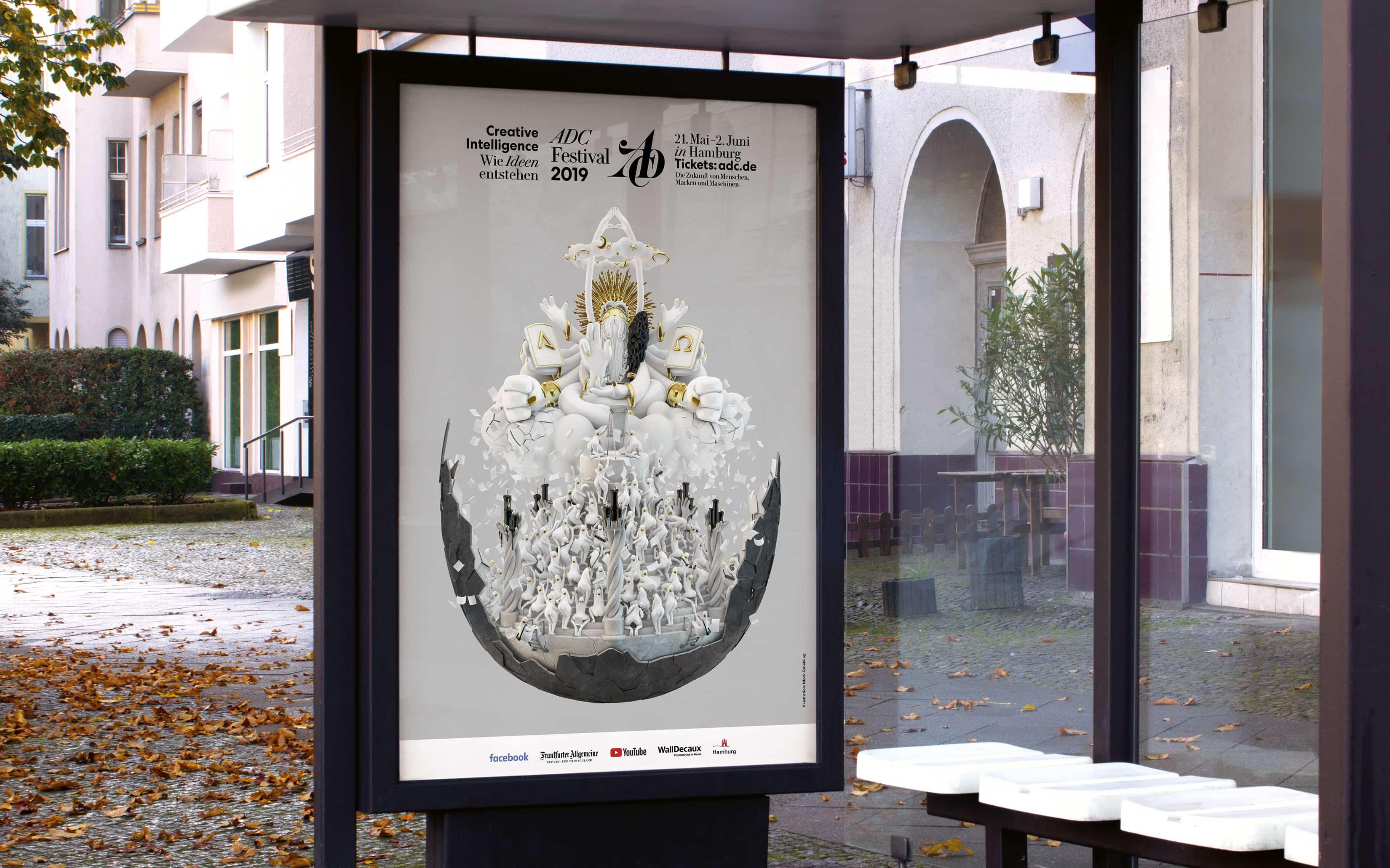 Bureau Johannes Erler – Plakate für den ADC
