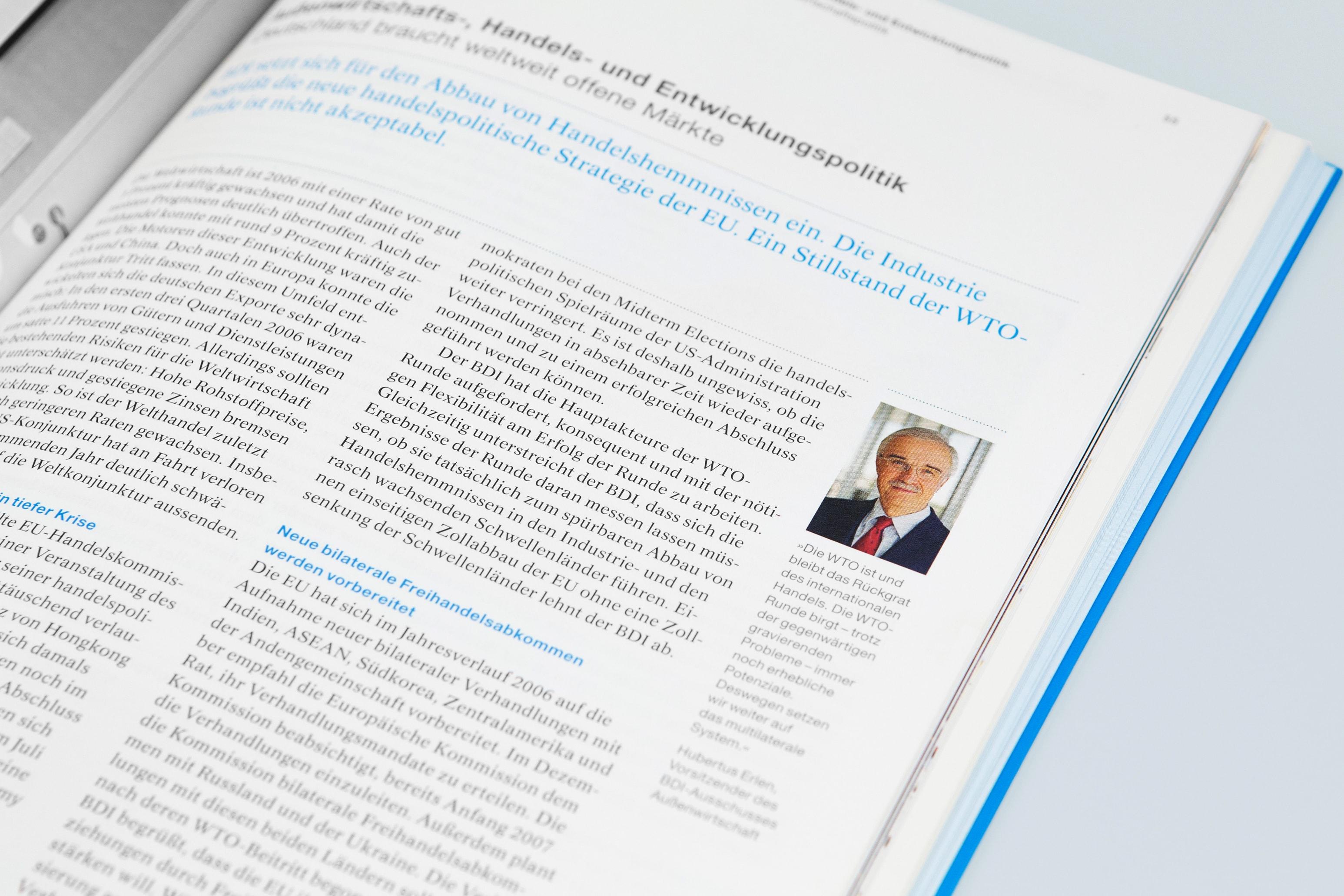 Bureau Johannes Erler – Bundesverband der Deutschen Industrie