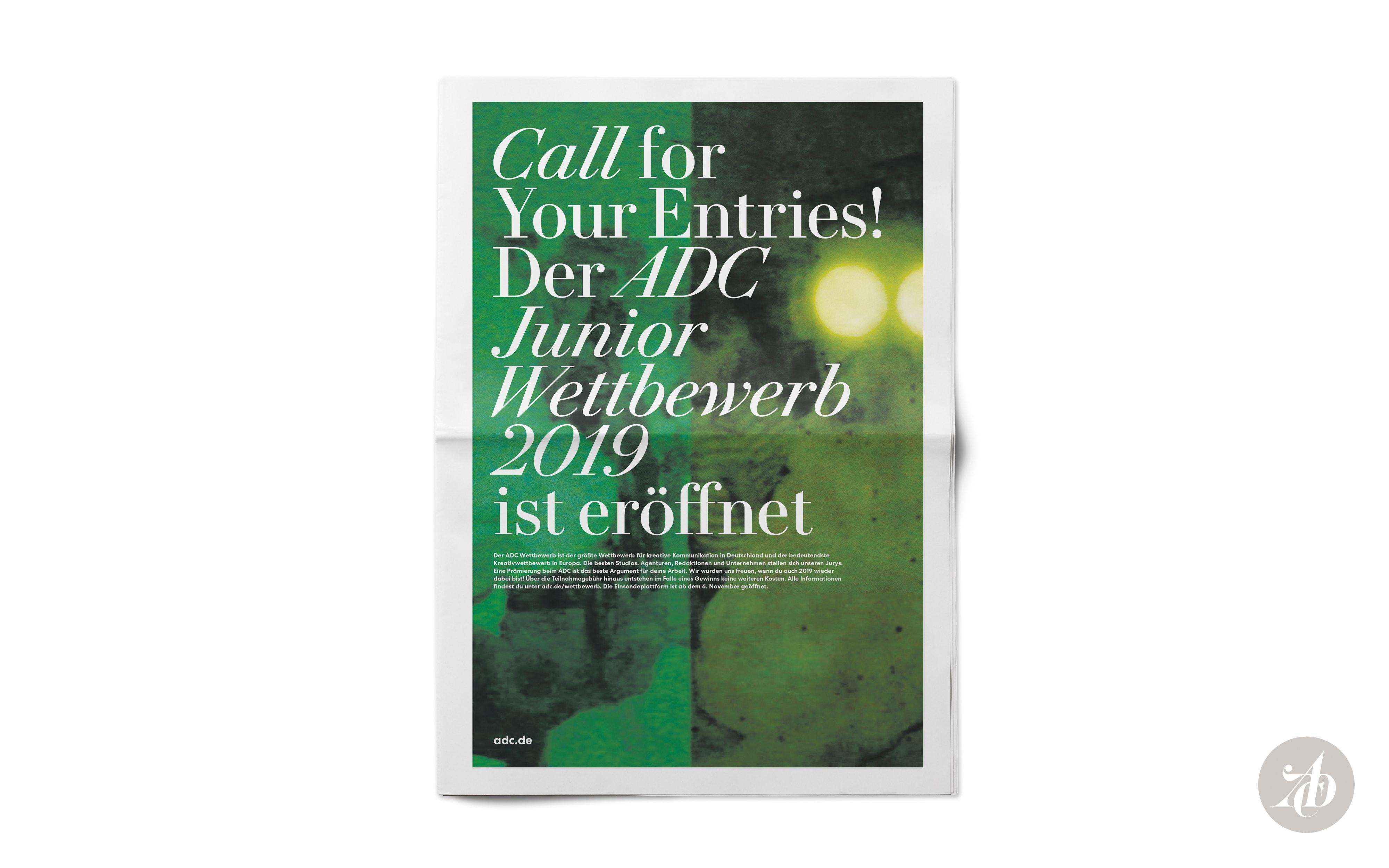 Bureau Johannes Erler – Auszeichnungen beim ADC 2019