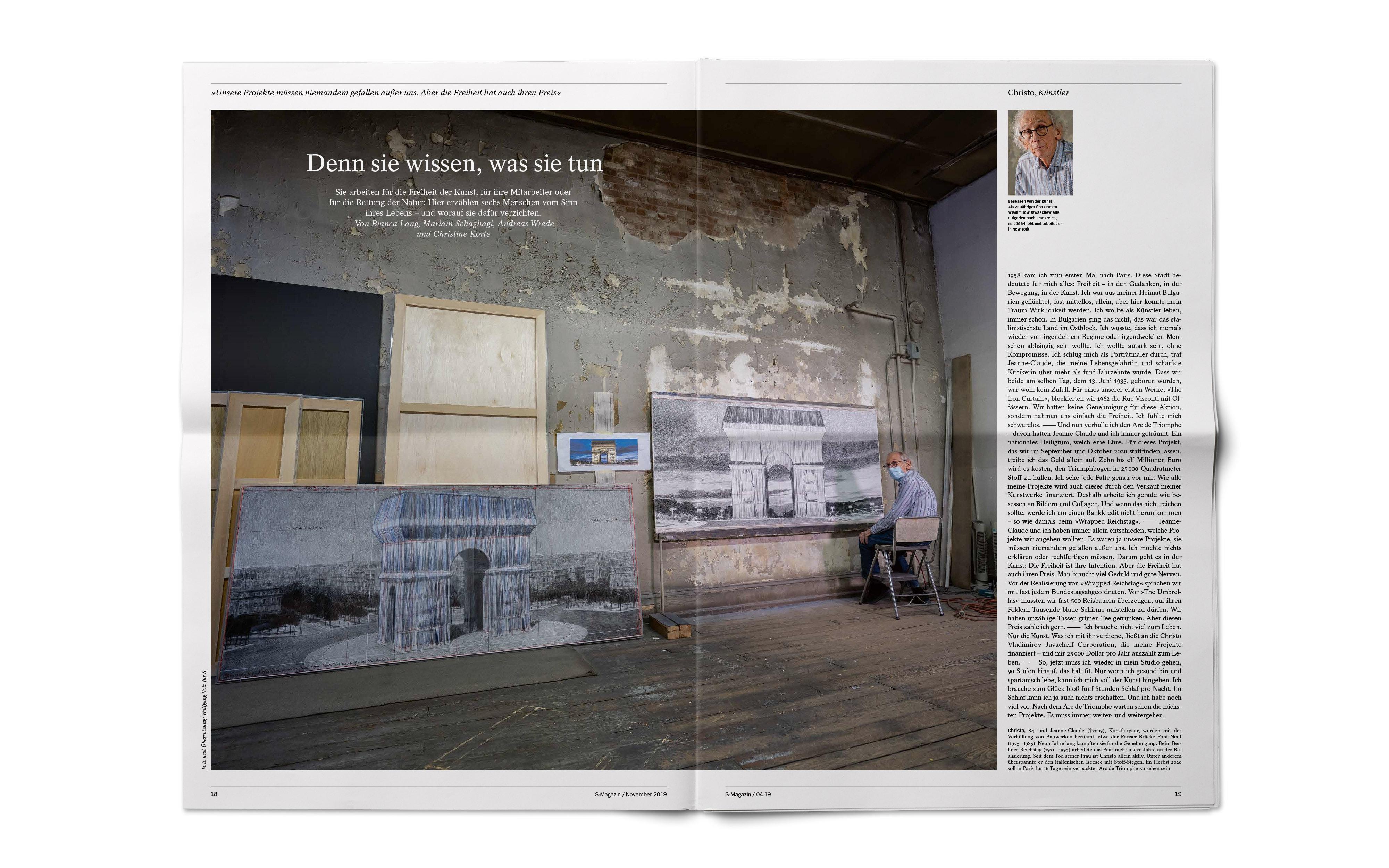 Bureau Johannes Erler – Spiegel S-Magazine / Nr. 5–9