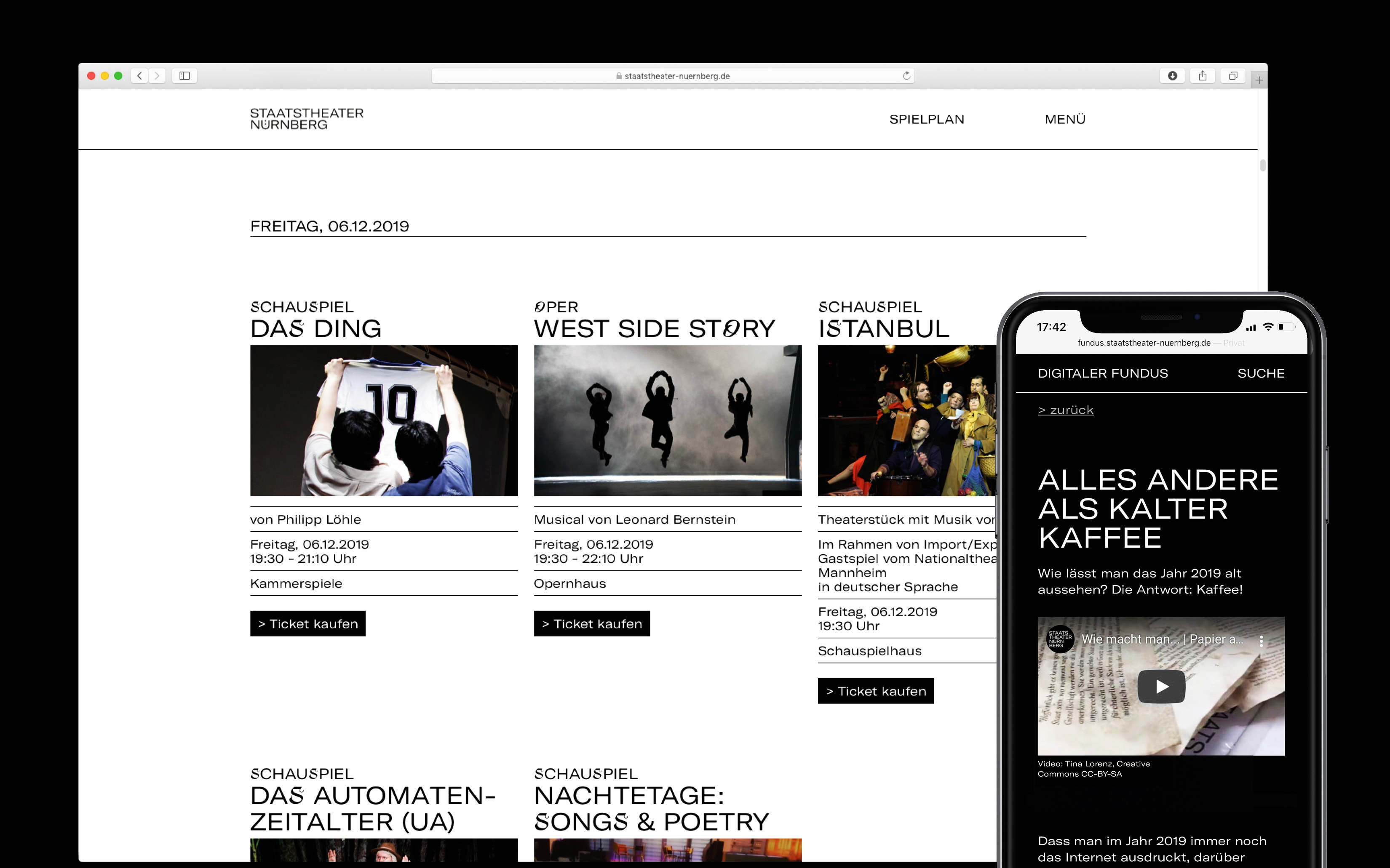 Bureau Johannes Erler – Digitale Kommunikation an Theatern