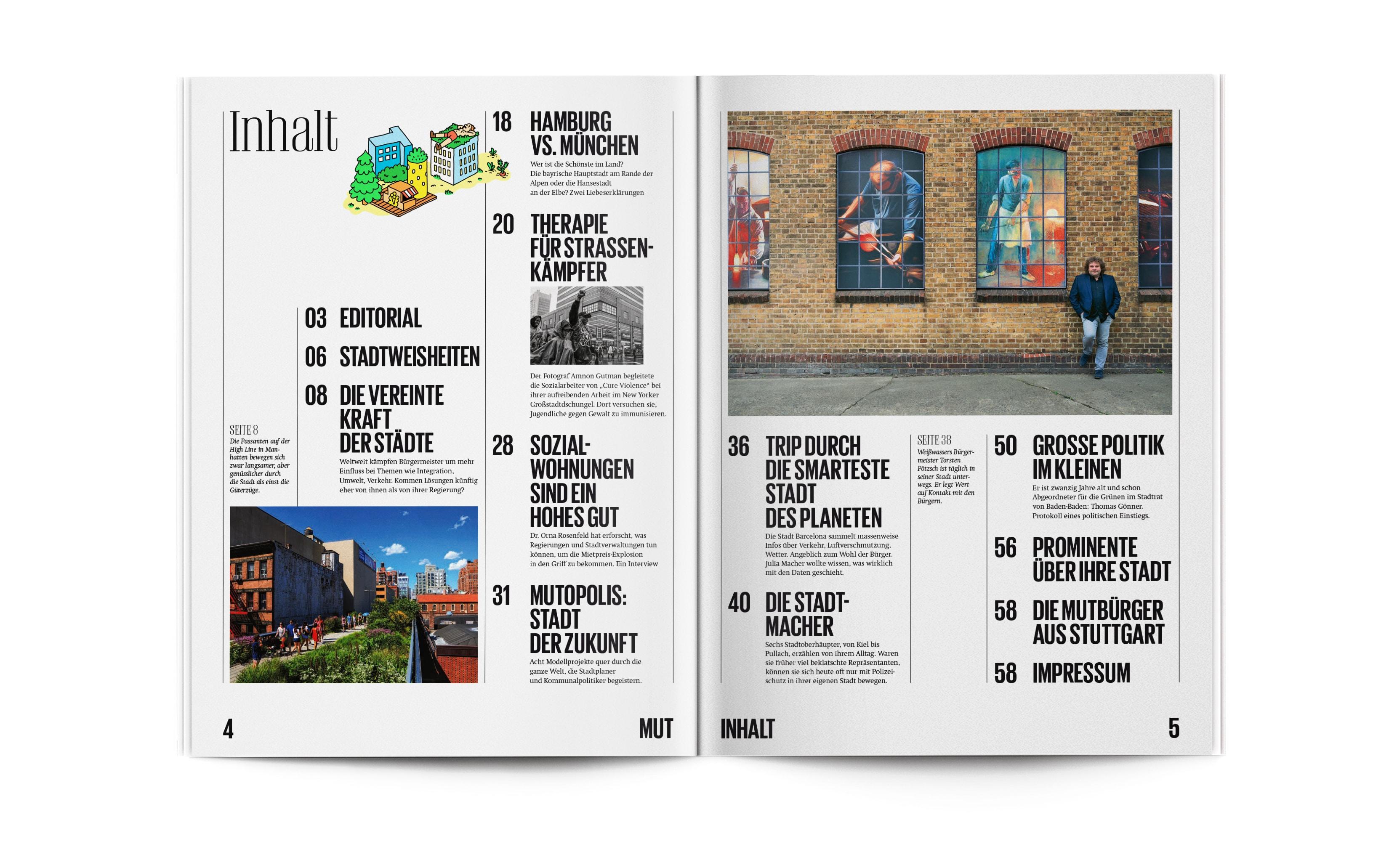 Bureau Johannes Erler – MUT Magazin Nr. 5