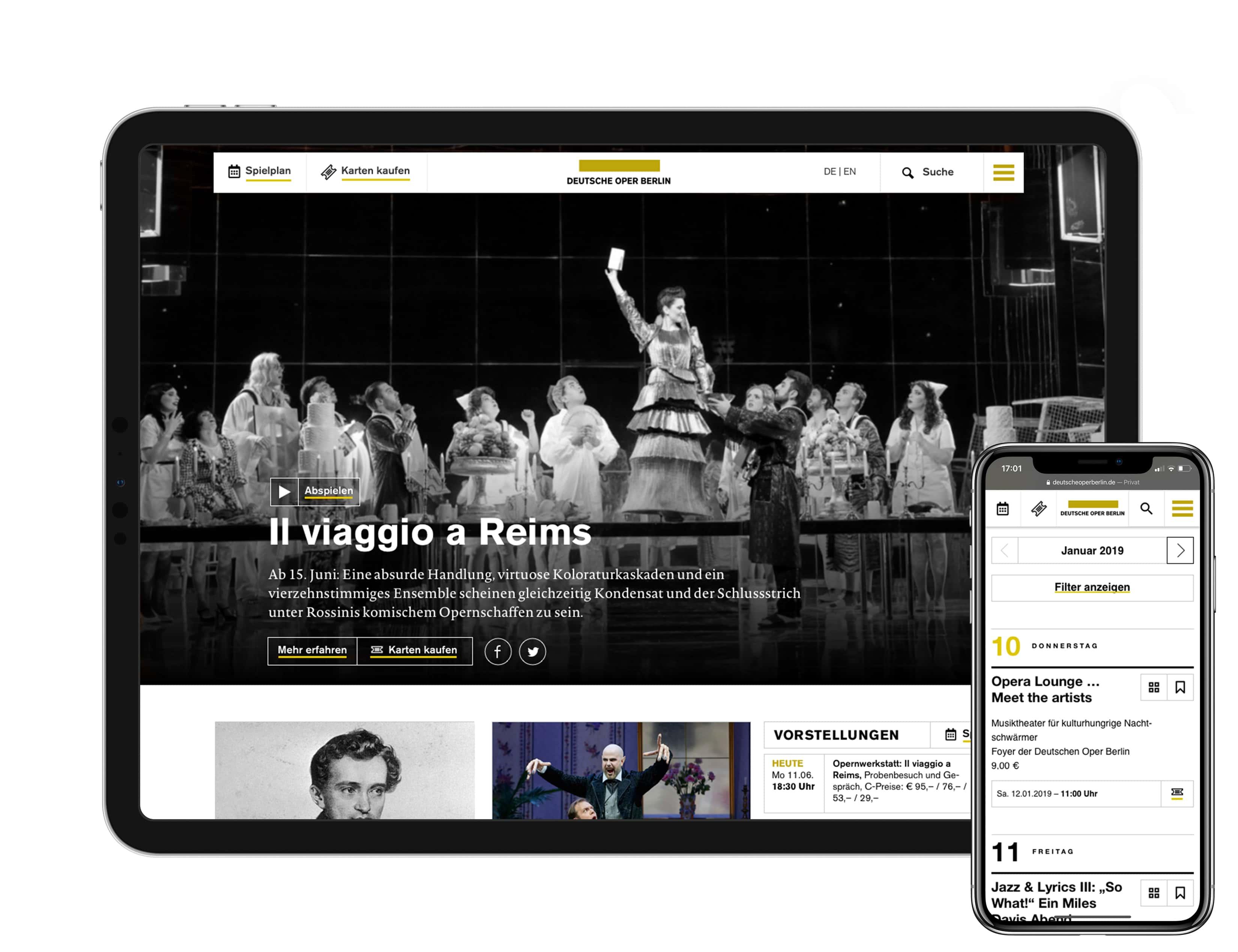 Bureau Johannes Erler – Deutsche Oper Berlin