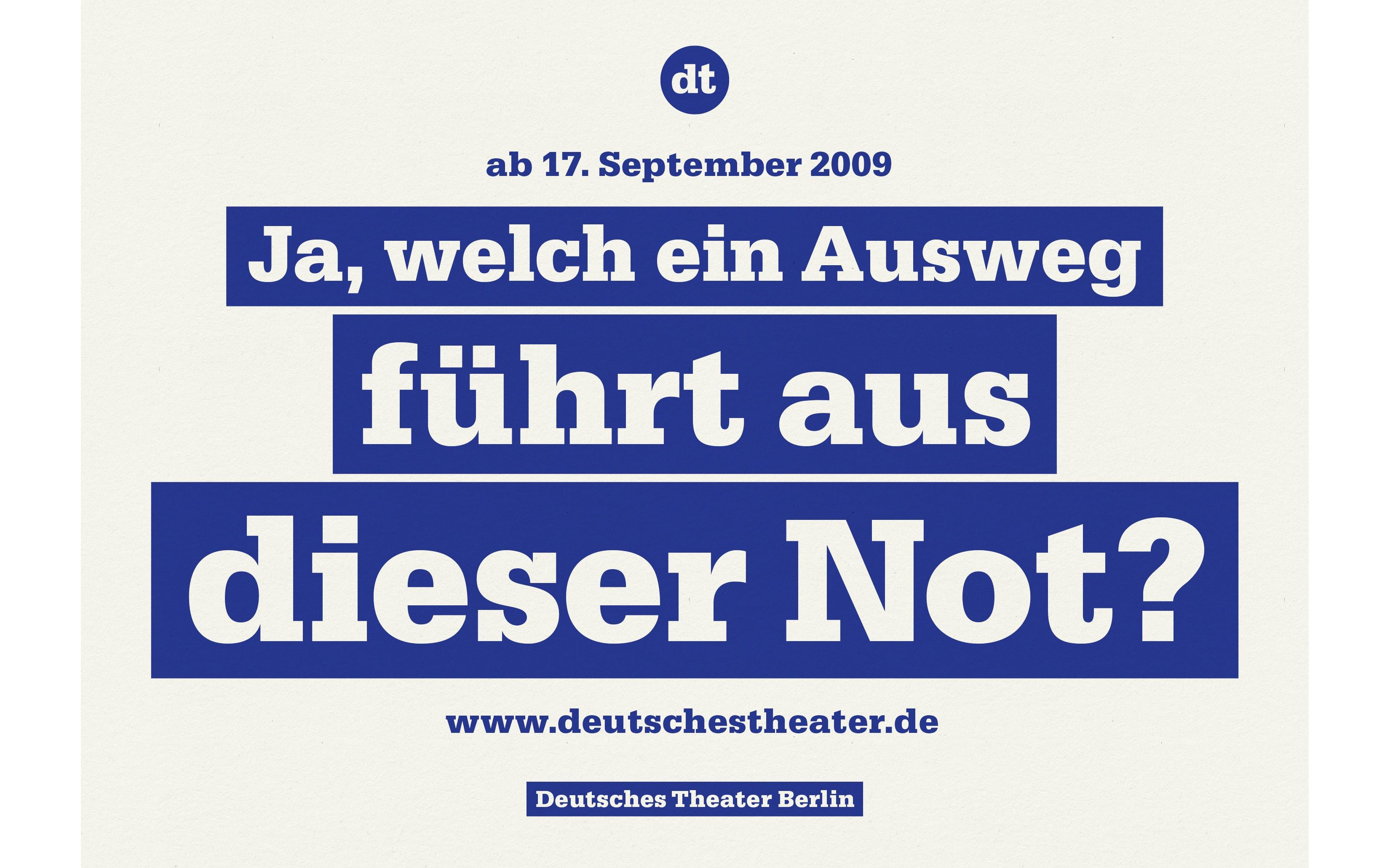 Bureau Johannes Erler – Deutsches Theater Berlin
