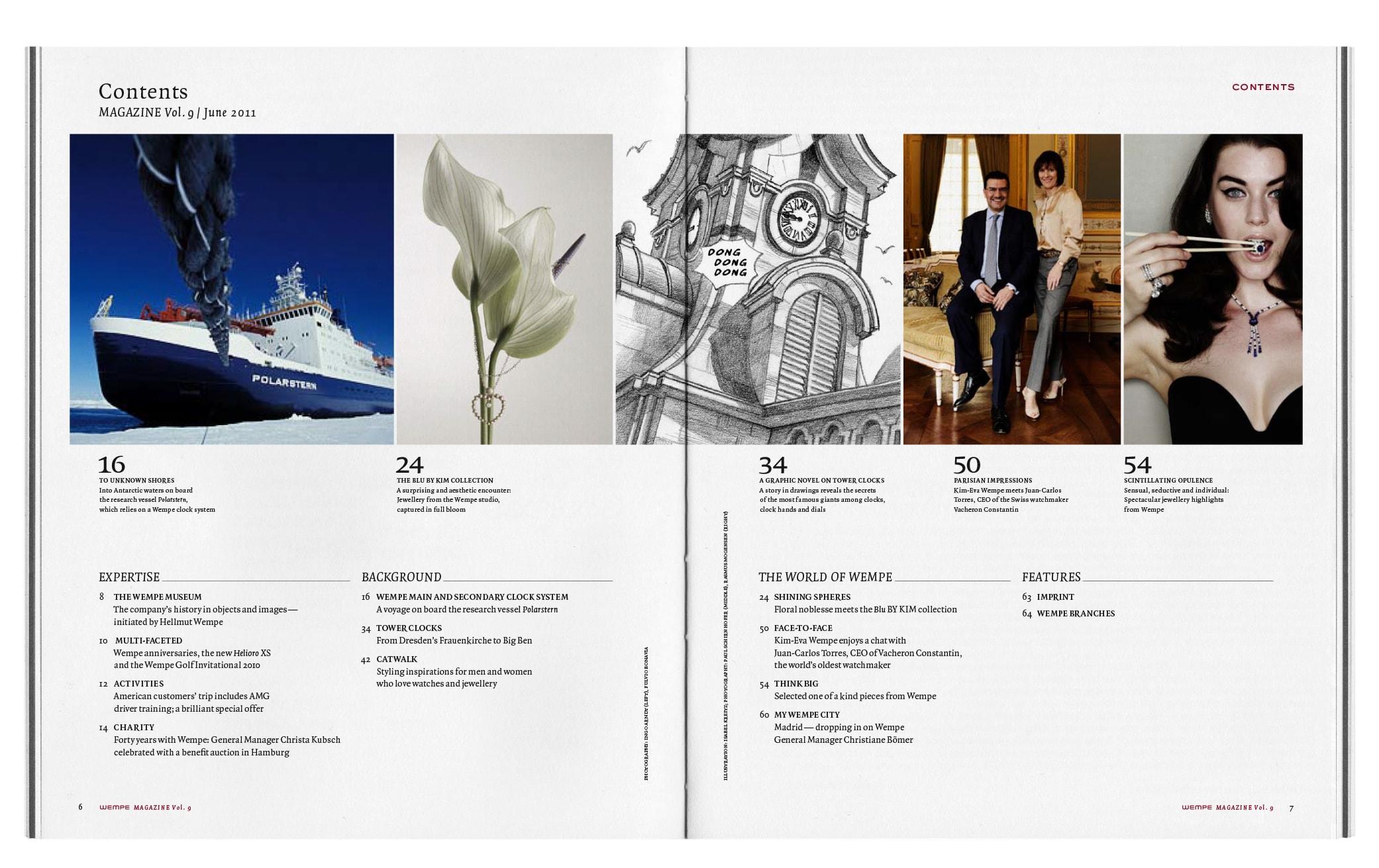 Bureau Johannes Erler – Wempe Magazin