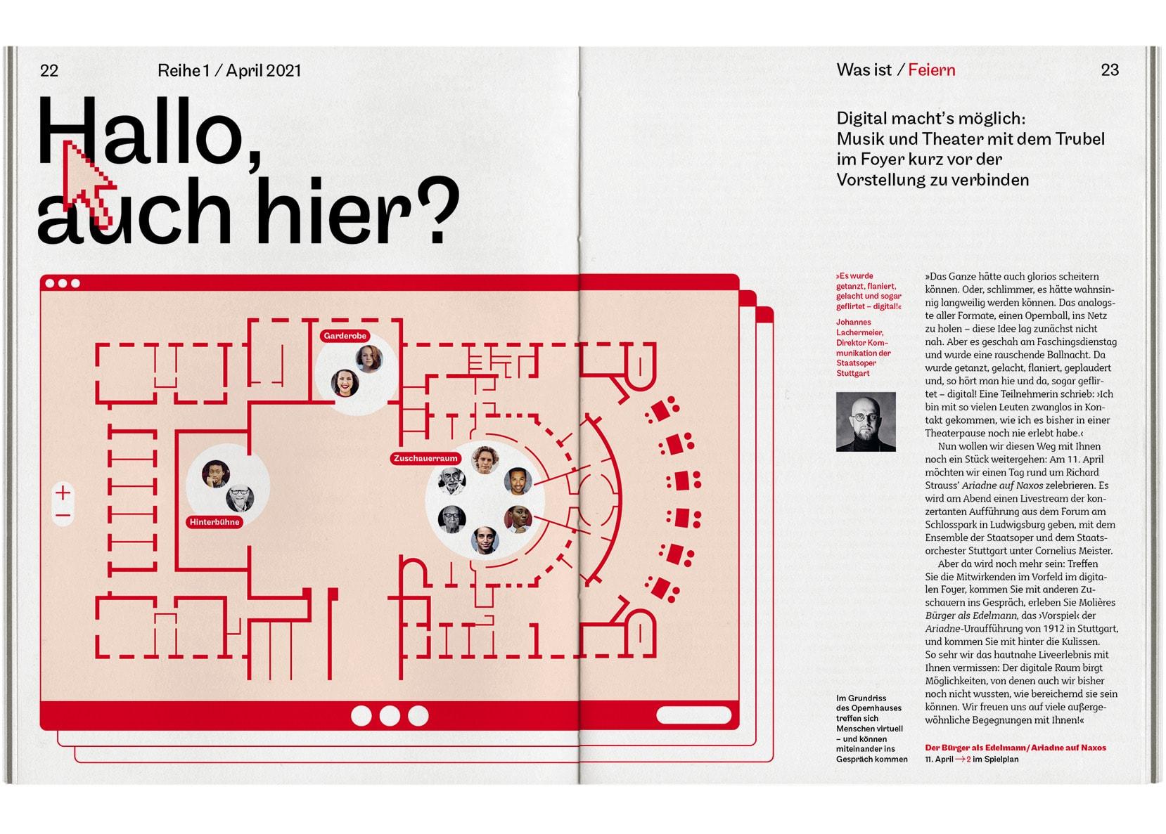 Bureau Johannes Erler – Reihe 1 — Magazin der Staatstheater Stuttgart