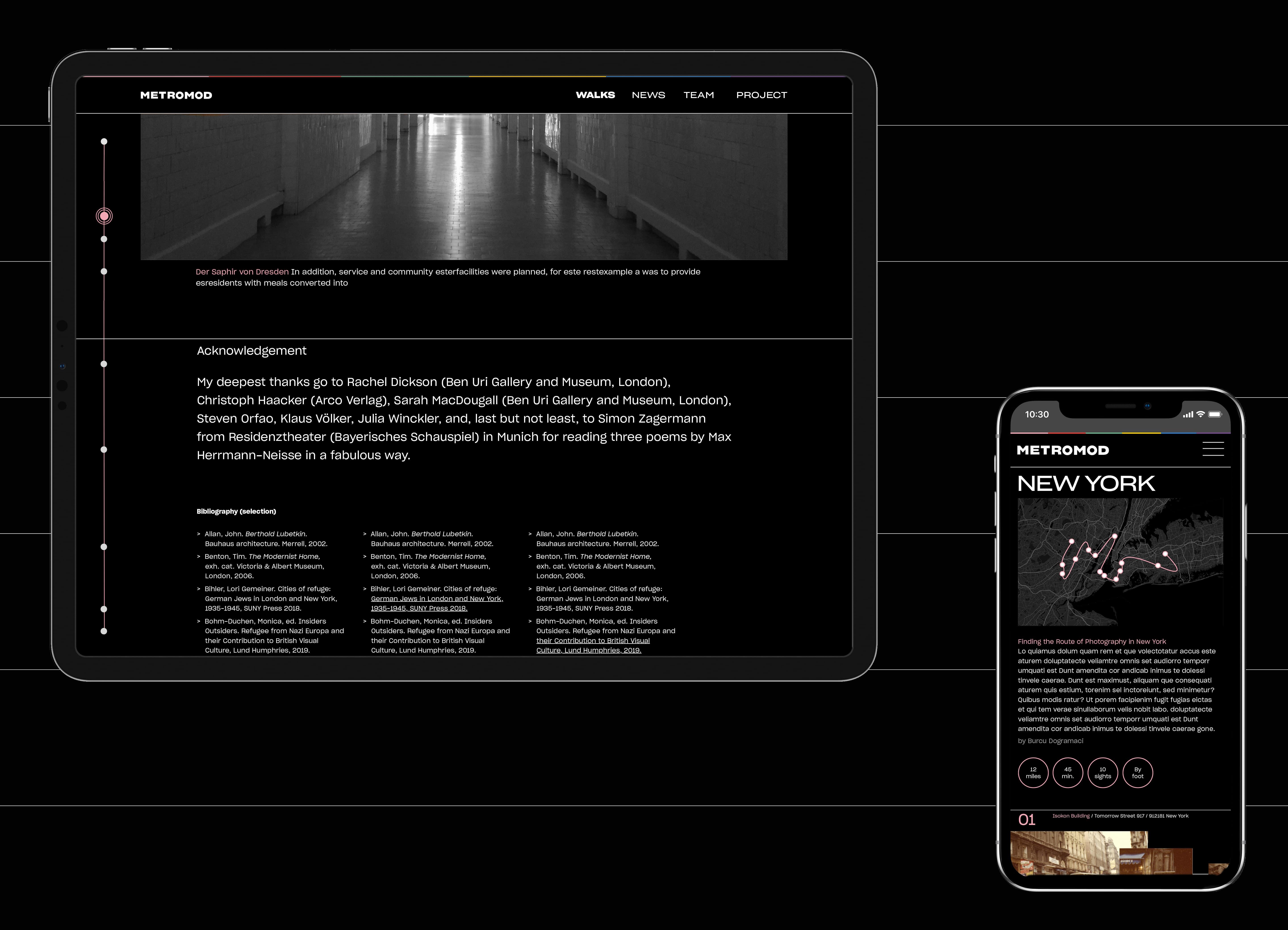 Bureau Johannes Erler – Online: Metromod — Walks