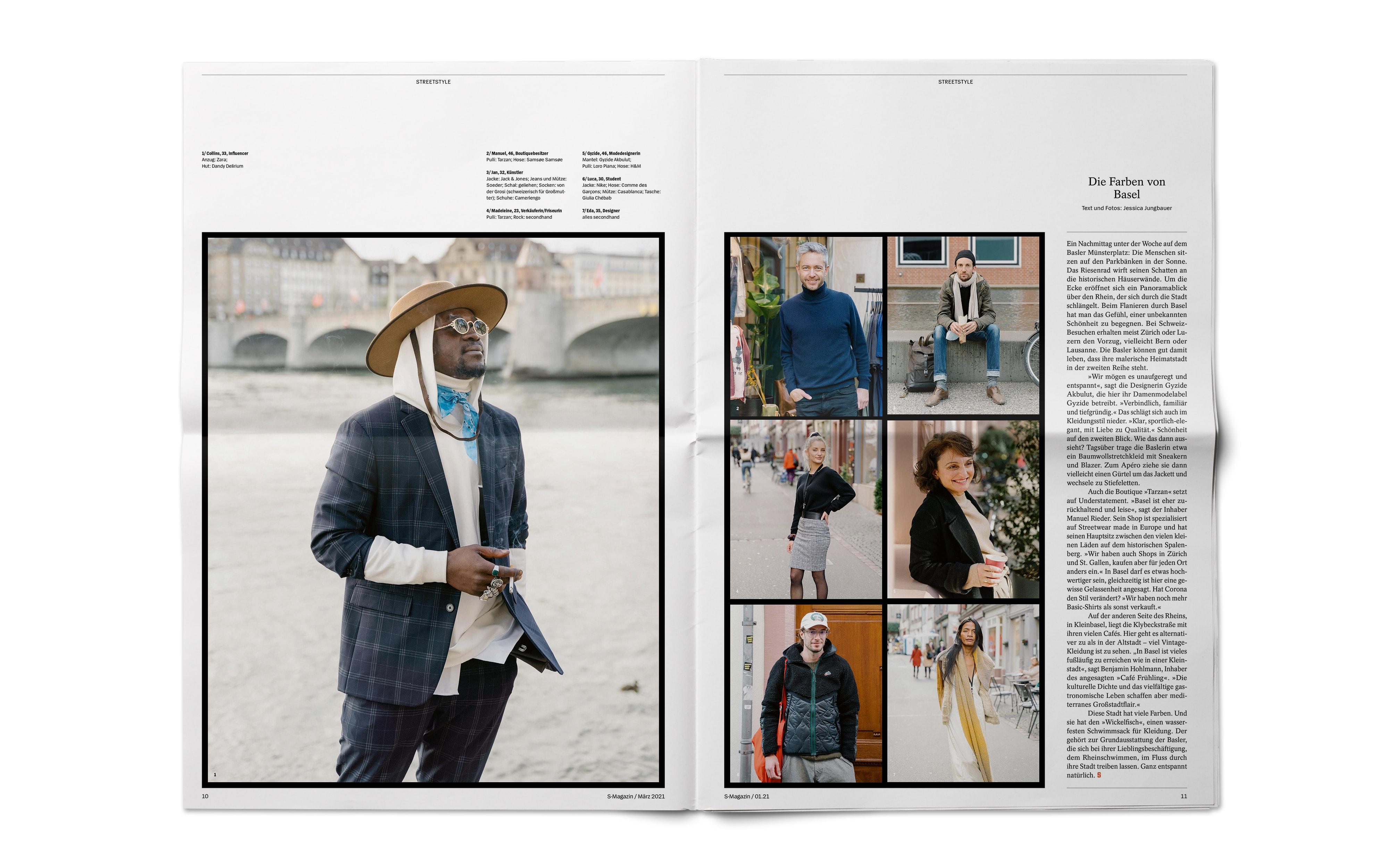 Bureau Johannes Erler – Spiegel S-Magazine / Nr. 10–15